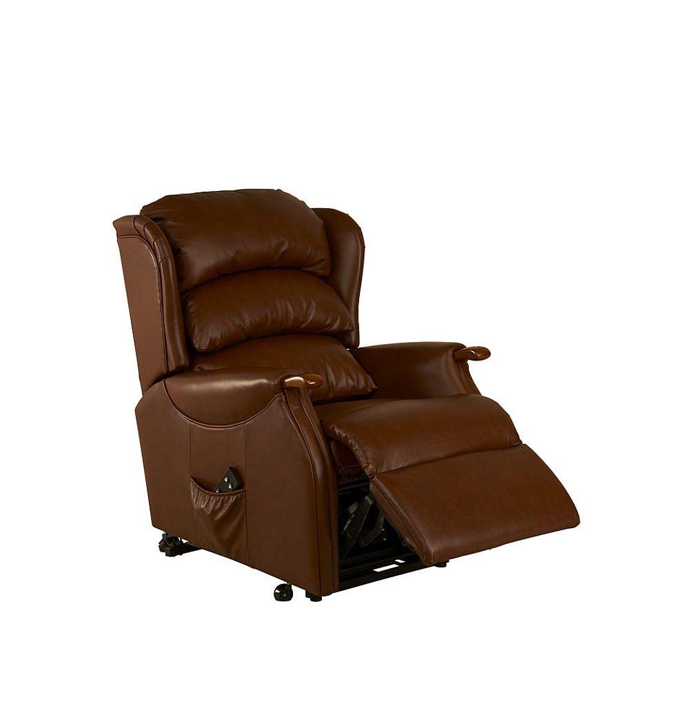 Bennetts celebrity westbury leather recliner for Westbury leather sofa
