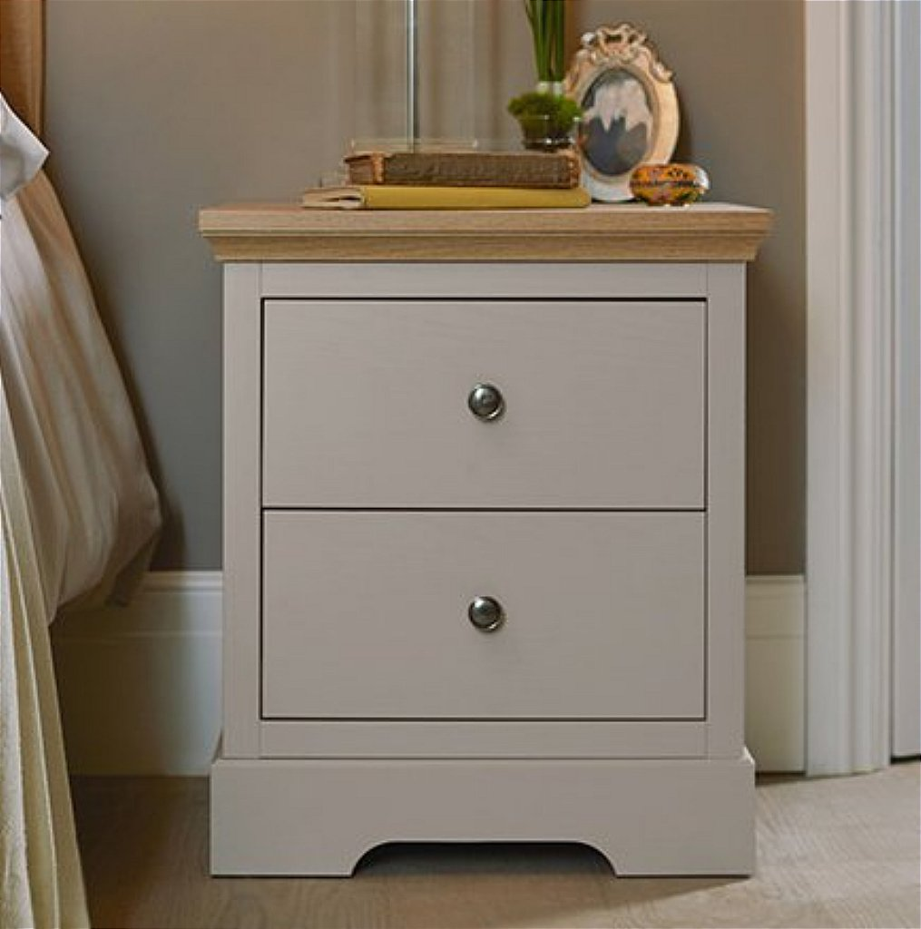 Kindred - Classic 2 Drawer Bedside Cabinet
