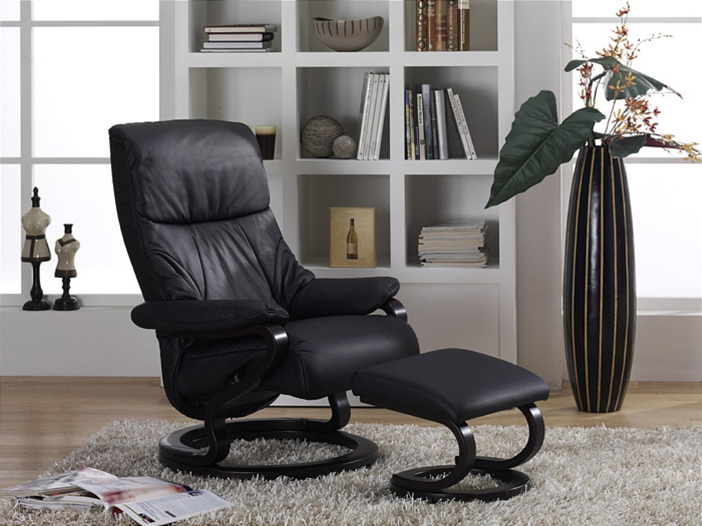 himolla clyde zerostress leather recliner. Black Bedroom Furniture Sets. Home Design Ideas