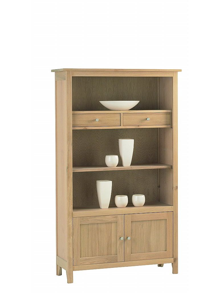 Corndell - Nimbus Medium Bookcase with Cupboard & Drawers
