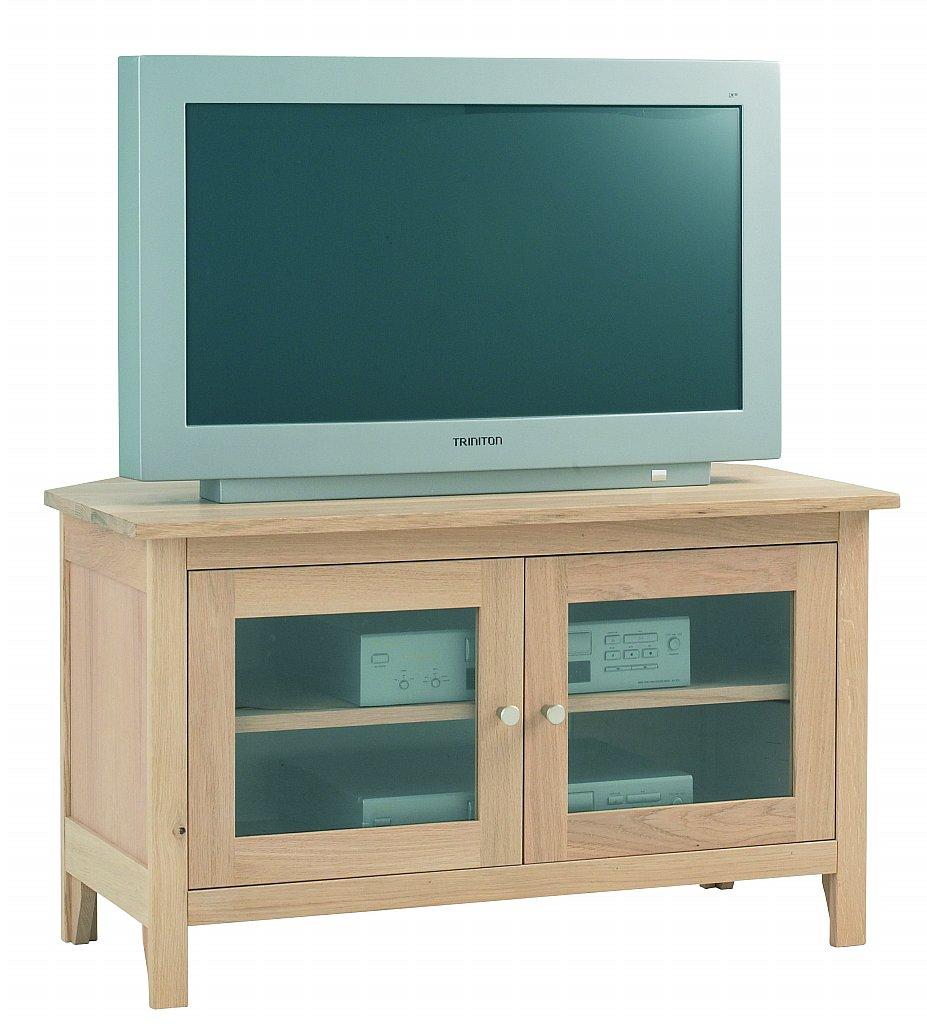 Corndell - Nimbus Glazed Corner TV Cabinet