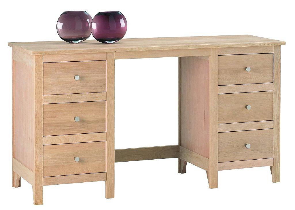 Corndell - Nimbus Twin Pedestal Dressing Table