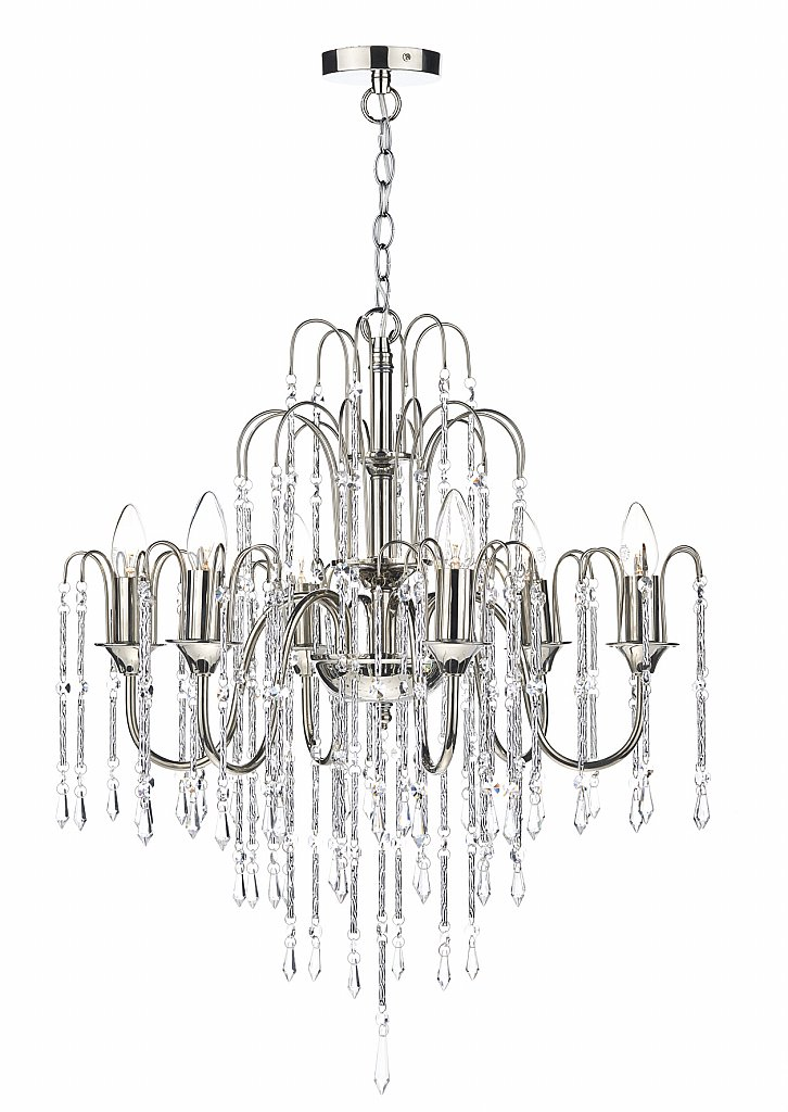Dar Lighting - Daniella 6 Light Pendant