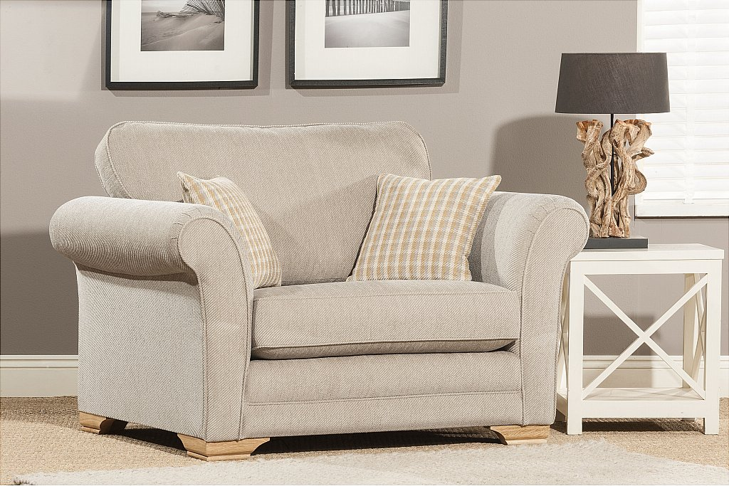 Alstons Upholstery - Newport Snuggler Chair