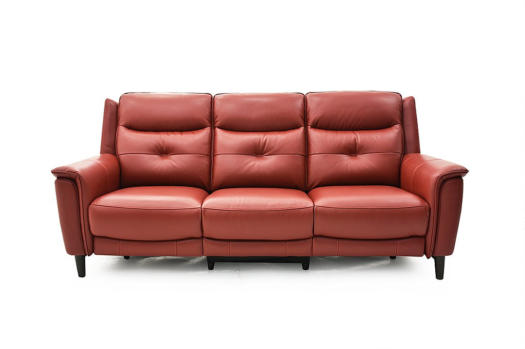 Htl logan 3 seater leather sofa for Htl sectional leather sofa