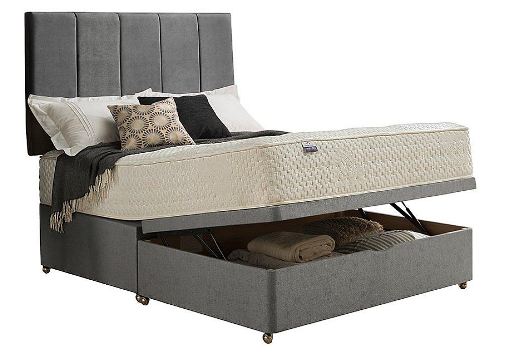 Silentnight geltex synergy 1000 divan bed for Divan type bed