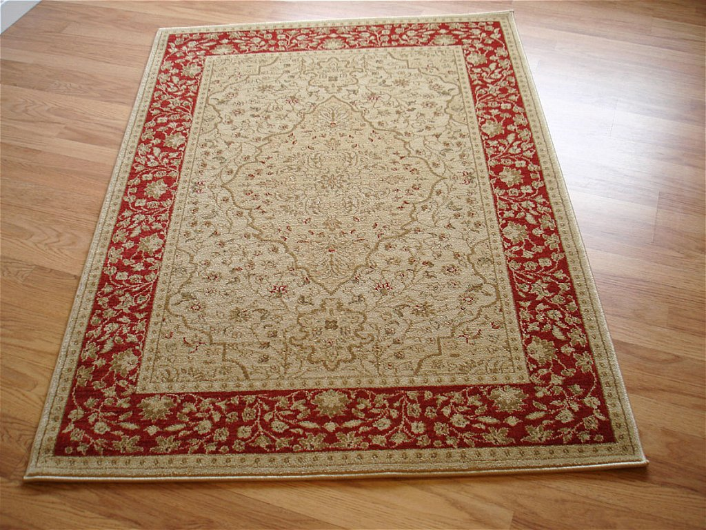Mastercraft Rugs - Ziegler 7709 Red Cream Rug