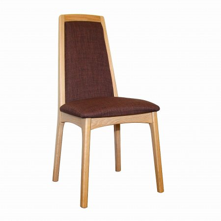 Gola - Aurora Oak Upholstered Back Chair