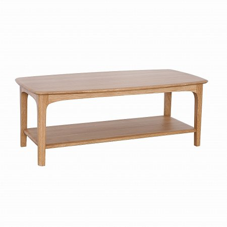 Gola - Aurora Solid Coffee Table with Shelf