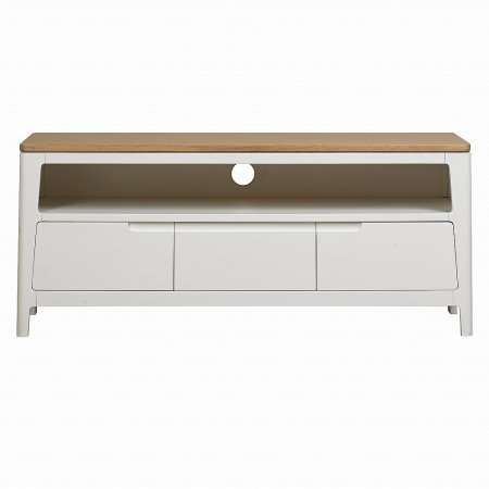 The Smith Collection - Geo Painted White Media Unit
