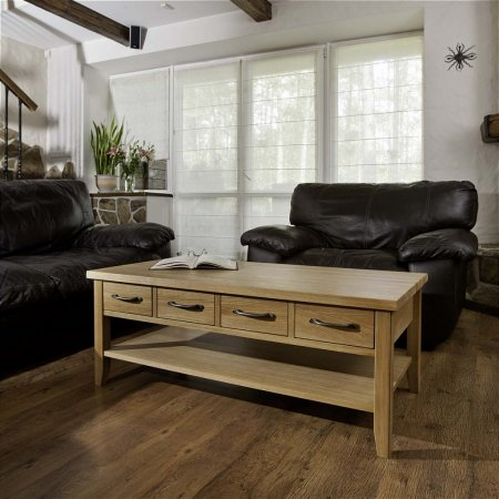 TCH - Windsor Coffee Table with 4 Drawers
