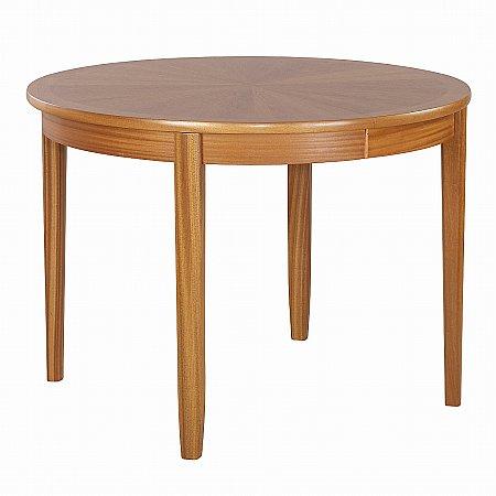 Nathan - Shades Teak Sunburst Dining Table