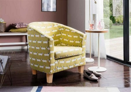 The Great Chair Company - Tub Chair in Hound Dog Ochre