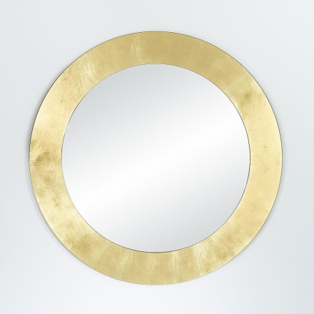 Deknudt Mirrors - Basic Gold Circle Mirror