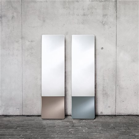Deknudt Mirrors - Duo Grey Mirror