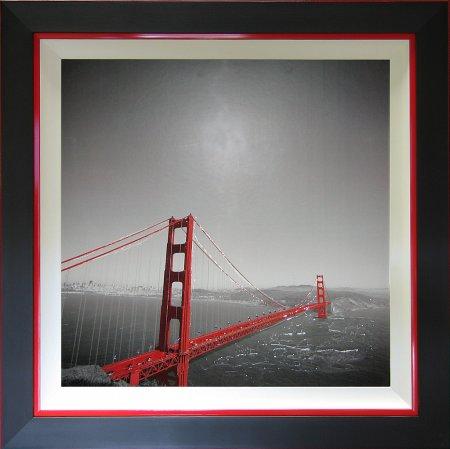 Liquid Art - Cityscapes Tomato Bridge
