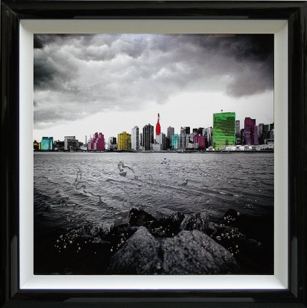 Liquid Art - Cityscapes New York Beach
