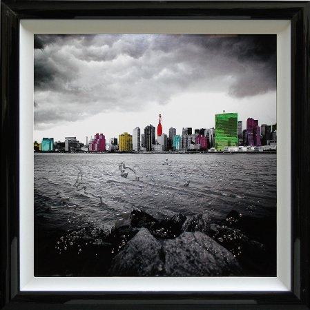 Liquid Art - Cityscapes New York Beach