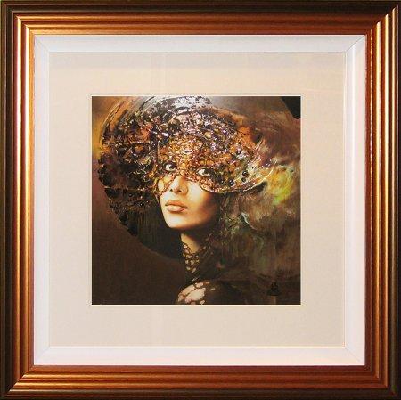 Liquid Art - Fashion and Romance Veiled Eyes II