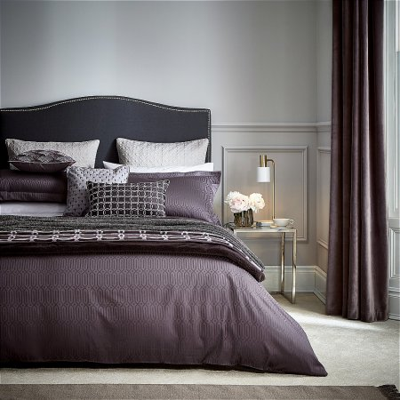 14583/Peacock-Blue-Hotel/Rivage-Bedding-in-Damson