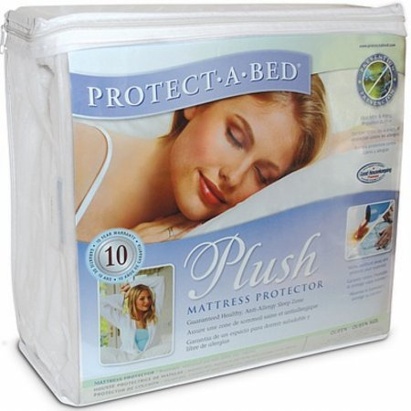 Protect A Bed - Plush Single Mattress Protector