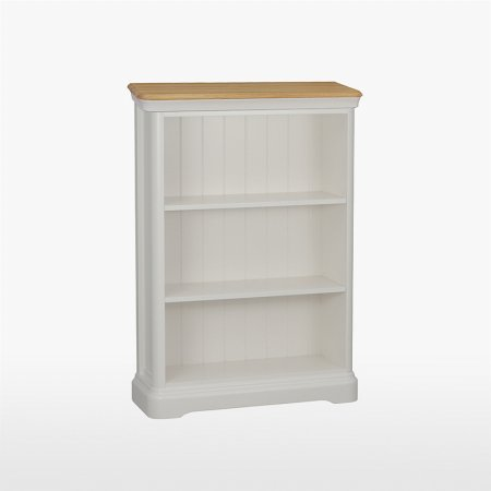 13822/Stag/Cromwell-Small-Bookcase