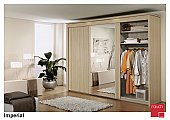 Imperial Sliding Door Wardrobe: Stylish Sliding door wardrobes in nine widths:<br />This perfect cabinet ra ...click for more