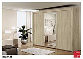 Imperial Sliding Door Wardrobe : Stylish Sliding door wardrobes in nine widths:<br />This perfect cabinet ra ...click for more