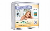 AllerZip Smooth Pillow Protectors: Smooth pillow protectors are designed for allergy sufferers to provide a pr ...click for more