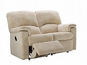 Chloe 2 Seater Recliner Sofa: The beautifully tailored finish, high back and recliner options underpin th ...click for more