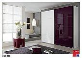 Quadra Sliding Door Wardrobe   : Sliding door wardrobe range convinces with a strong geometry, a striking de ...click for more