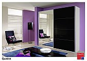 Quadra Sliding Door Wardrobe : Sliding door wardrobe range convinces with a strong geometry, a striking de ...click for more
