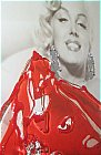 Icons - Marilyn at the Beach: Ref: 06124LA, (R3)<br />Size: 123 x 73cm / 48 1/2 in x 29in ...click for more