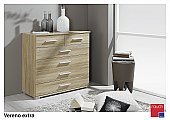 Vereno Extra 6 Drawer Chest: Matching pieces of this range come in a straight design and offer a beautif ...click for more
