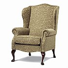 Kensington Wing Chair: Bring an air of stately elegance to your home with the classically styled C ...click for more