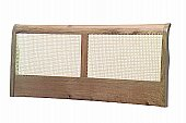 Chartwell Headboard: 60cm high<br> Widths 2ft 6in, 3 ft, 4ft, 4ft 6in, 5ft, 6ft ...click for more