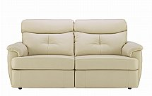G Plan Upholstery Atlanta 3 Seater Leather Sofa