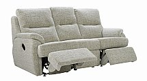 G Plan Upholstery Hartford 3 Seater Double Recliner Sofa