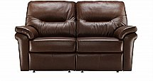 G Plan Upholstery Washington Leather Sofa