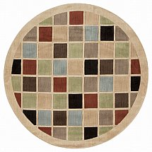 Flooring One Mondrian Circle Rug