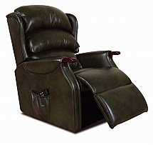 Vale Furnishers - Wiltshire Leather Recliner