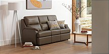 G Plan Upholstery Hartford 3 Seater Leather Sofa