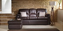 G Plan Upholstery Chloe Leather Sofa