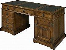 3292/Old-Charm-OC-2798-Pedestal-Desk