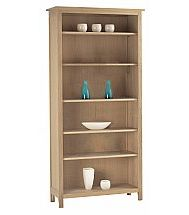 Vale Furnishers - Cirrus Five Shelf Bookcase
