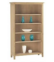 Vale Furnishers - Cirrus Four Shelf Bookcase