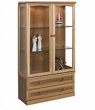 4233/Sutcliffe-Trafalgar-Display-Unit-with-Lower-Drawers