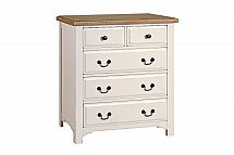 Vale Furnishers - Bedrooms - Chateaux Two and Three Drawer Chest