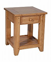 Vale Furnishers - Lancaster Compact Lamp Table