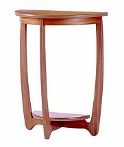 Nathan - Teak Collection Shades Sunburst Cricket Table